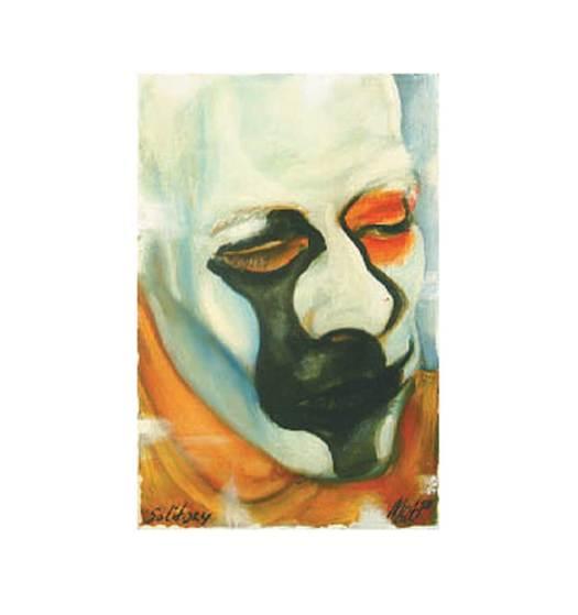 Solitair-Be-1997-schilderij-Marit-Otto-beeldende-kunst