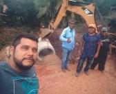 Equipe de Usina Show desenvolve frentes de trabalho no Bairro Almir Gabriel
