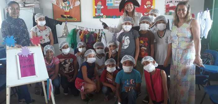 Escola Eudamidas Lopes de Miranda contempla a organização e desenvolvimento de projetos