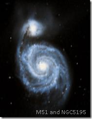 M51 and NGC5195