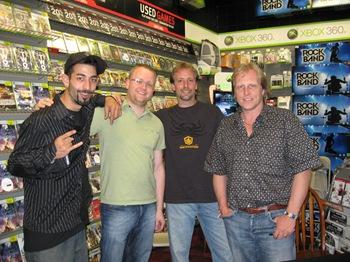 Josh Harris, Marius, Edgar & Sig Hansen