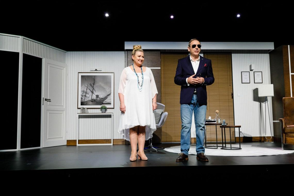 Aldona Jankowska i Tomasz Sapryk w komedii Zacznijmy jeszcze raz