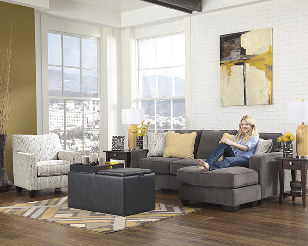 Grey Furniture Living Sets Room