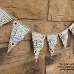 Blessed Pennant Banner With Gina's Designs