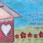 Art House Mixed Media Canvas