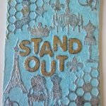 Faux Embossed Canvas with Gina's Designs