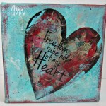Freedom Heart Canvas