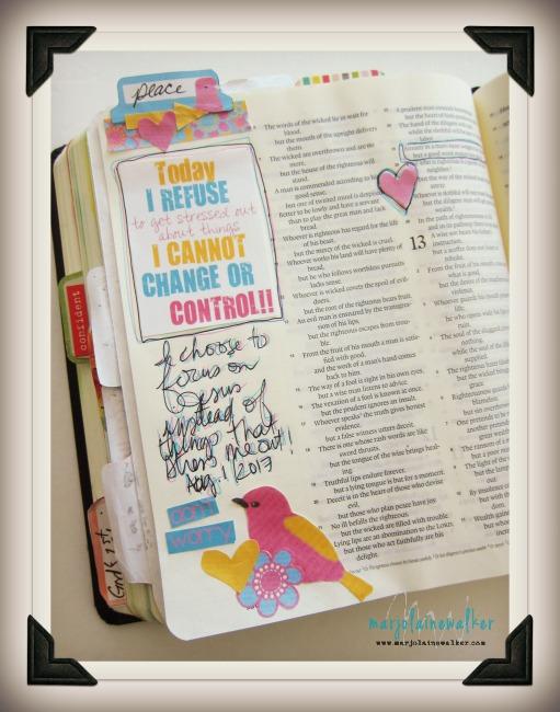 bible jpurnaling