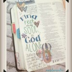 Rest for your Soul Bible Journaling