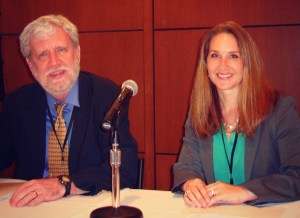 Dr Anders Ericsson and Dr. Marjorie Stiegler