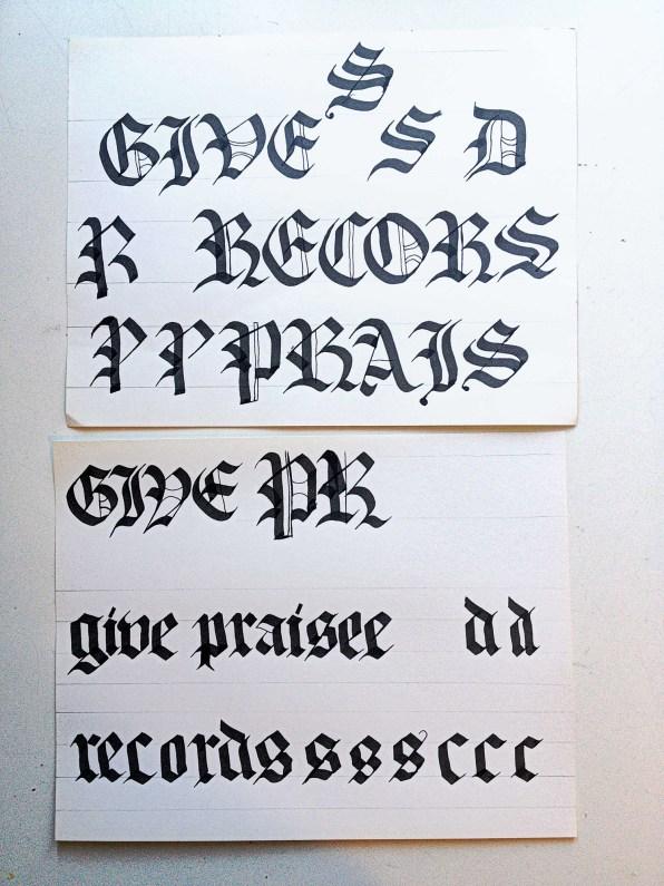 givepriase-oldenglish-grunge-logos-original