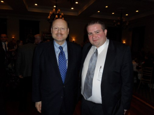 Mark with Joe Lhota and the 2013 Mayoral campaign candidates