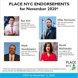 Place NYC Endorses Mark Szuszkiewicz