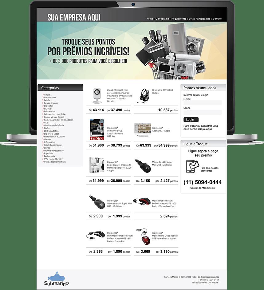 Catálogo de Prêmios
