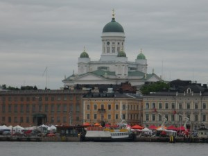 Helsinki's lively and beautiful harbor