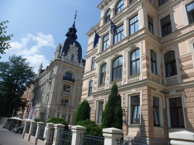 Embassy Row is lined with these incredible buildings