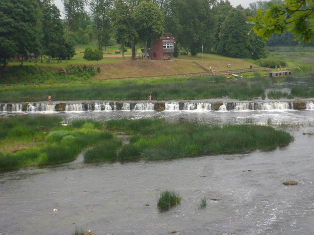 Kuldiga claims to have the widest natural waterfall in all Europe, though it's somewhat less impressive than that might sound