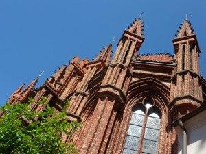 The gothic splendor of St. Anne's church