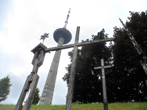 A tribute to the 13 Lithuanian martyrs who, killed by Soviet troops while defending the TV tower