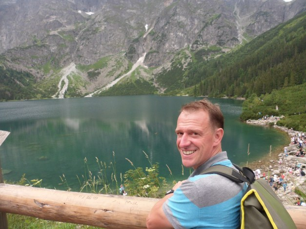 At the edge of Morskie Oko