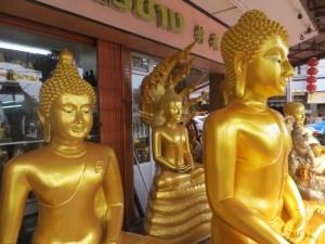 Buddhas for sale, Bangkok