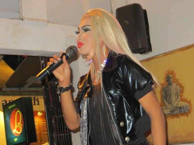 From the spiritual to the profane - a drag show in Siem Reap