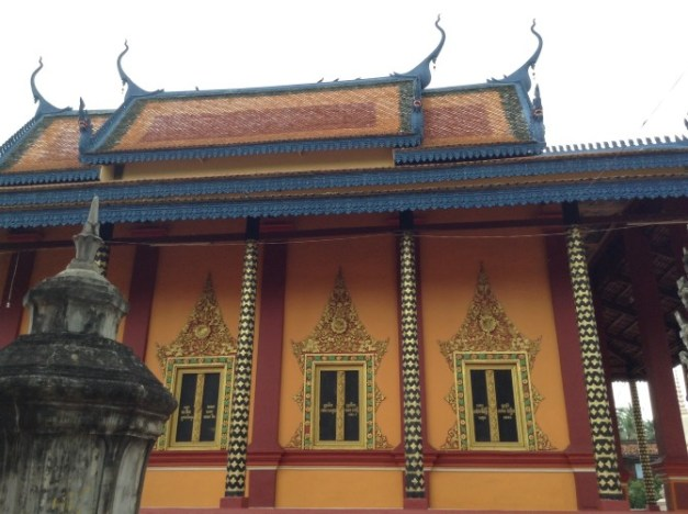 Lots of temples along the bike route