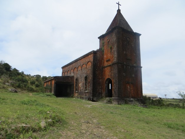 Abandoned church in the abandoned French colonial hill station