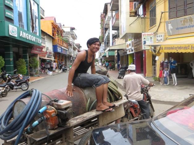 Street scene in Kompong Chom