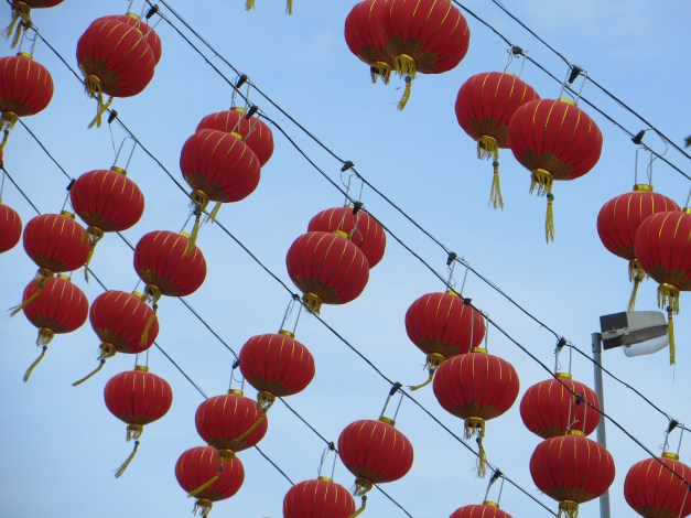 Chinese New Years is a colorful event
