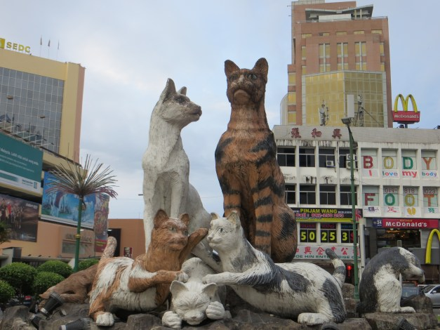 It's a city of cats