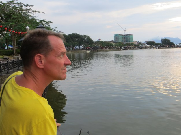 A great riverwalk on the Sarawak River