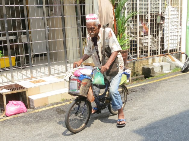 Street life in George Town