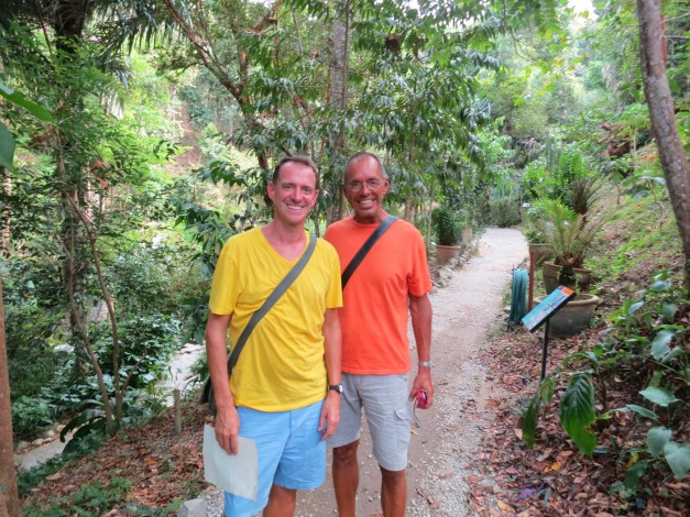 And then there was the walk through a spice garden