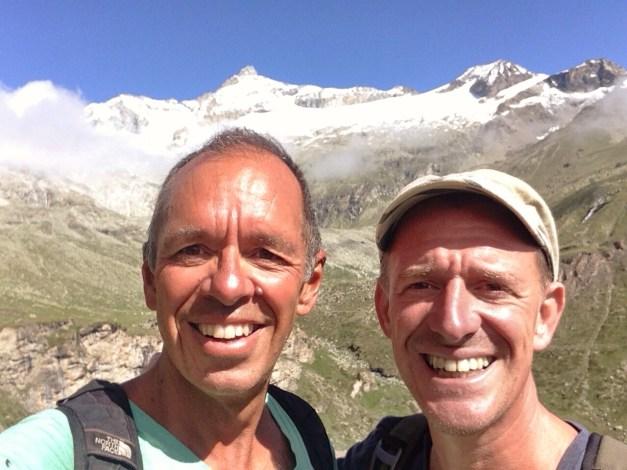 Mid-trail selfie