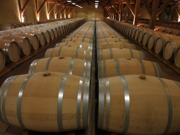 Touring three wineries we saw a lot of barrels and tanks. They all pretty much look the same.