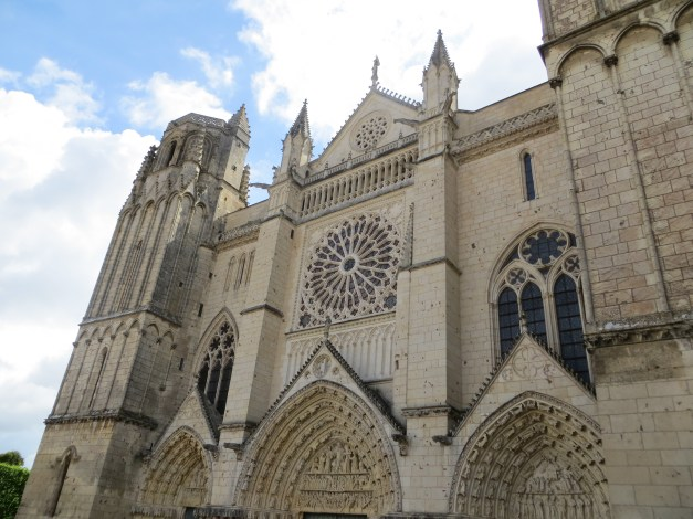 Poitiers' Cathedral, where Eleanor of Aquitaine married Henry, the crown prince of England