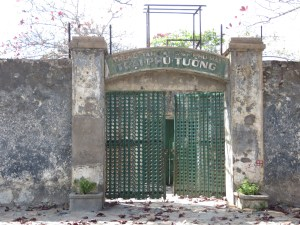 The gates to the Con Dao prison