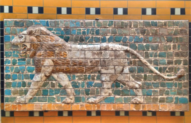 "While touring the archeology museum we saw this and said ""Hey, isn't that part of the processional way of Babel's Ishtar Gate that we saw in Berlin?"" Sure enough, you know you're getting a good sampling of the world's museums when you see the same exhibits in different places."