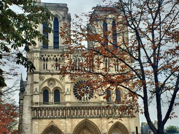 When it comes to favorite sites, Notre Dame - just a couple blocks from our hotel - is high on the list