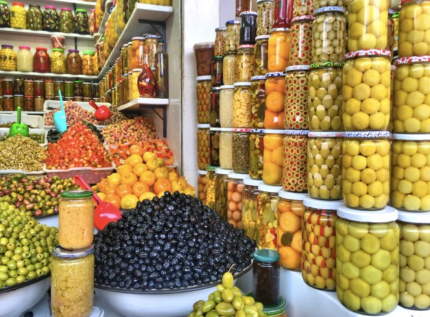 You can buy lots of olives in these markets