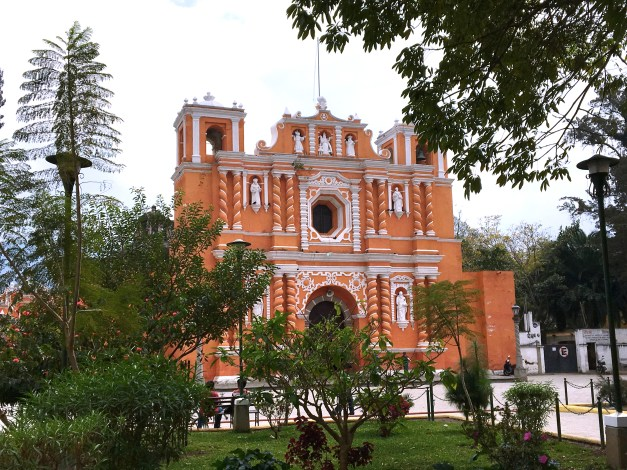 The main church in the neighboring town of Jocotenango