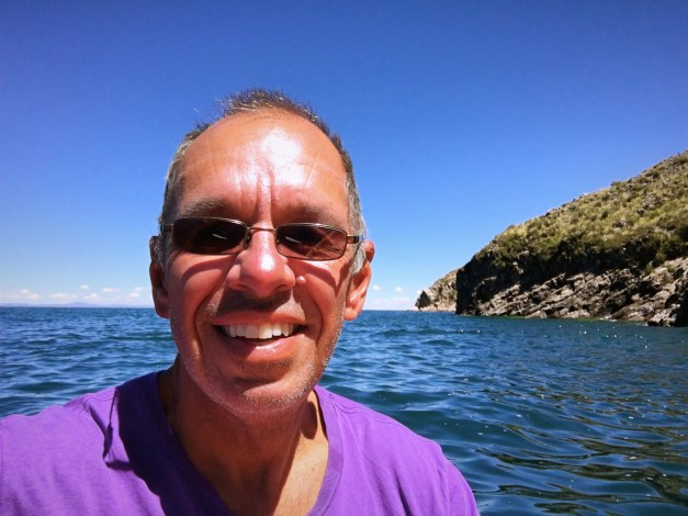My selfie while kayaking around Isla Suasi