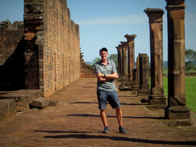 Mark in the ruins