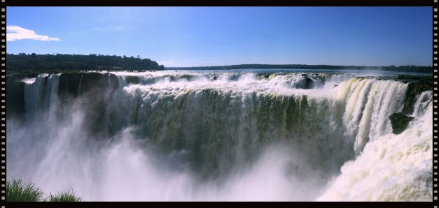 Devil's Throat at Iguazu Falls. A breathtaking - and breathtakingly close - view of one of the world's great waterfalls.