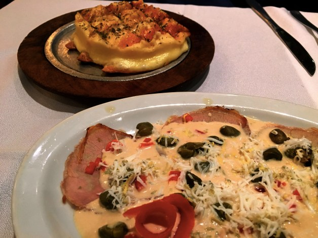 Food was a big deal in Salta. We found a restaurant serving the world's best provaleta - the fried cheese dish on top - and vitello tonato, an Italian veal dish with a tuna sauce. We ate these appetizers three days in a row!