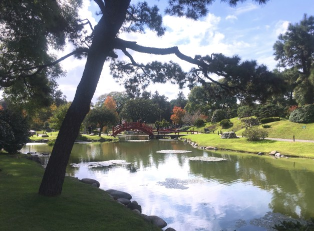 One more shot of the Japanese Garden. You can almost feel Mt. Fuji there in the background.