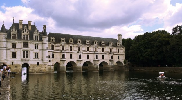 The Château de Chenonceau spanning the River Cher