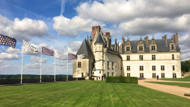 The Château d'Amboise on its own
