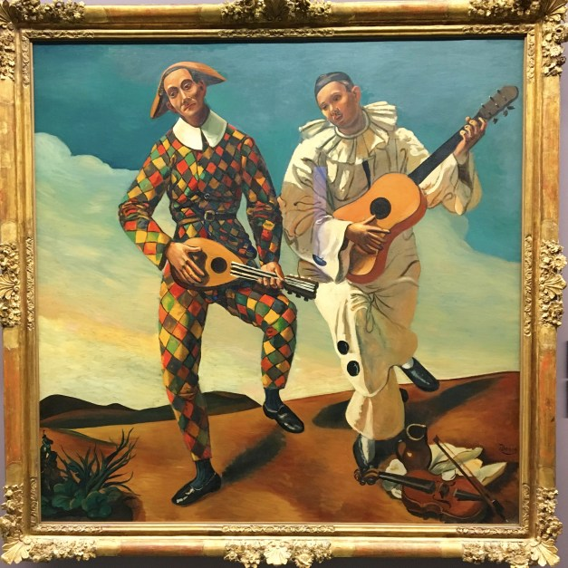 Arlequin et Pierrot by André Derain in the Guillaume Walter collection